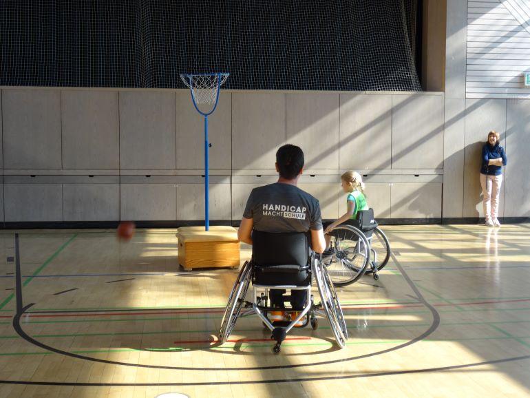 Handicap macht Schule